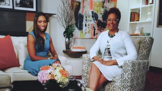 Patrice Washington and The Root Live host Harriette ColeHarriette Cole Media