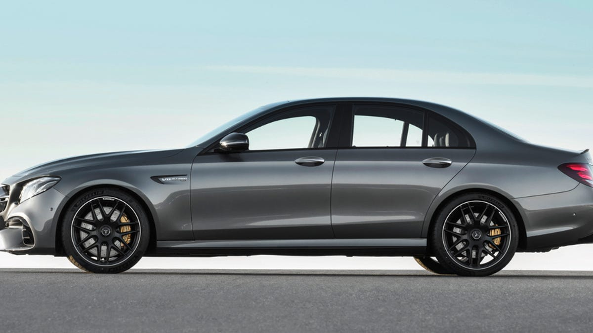 The 2017 Mercedes E63 AMG Has So Much Cool Shit You'll Never Use
