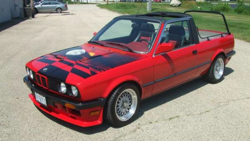 Illustration for article titled Guy On Craigslist Claims This BMW E30 Pickup Is 'Factory Authorized'