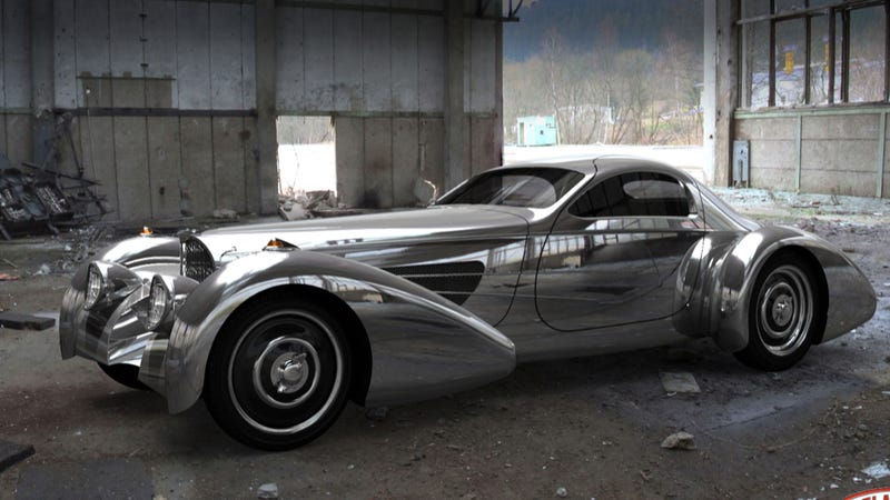Illustration for article titled A Bugatti replica built for Snooki