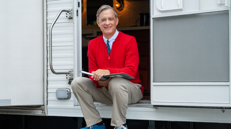 Illustration for article titled This Tom Hanks-as-Mr. Rogers movie sure is looking nice