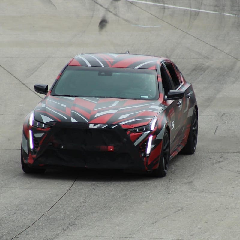 "Illustration for article titled More ""extreme"" models of CT4-V and CT5-V seen testing in Detroit."
