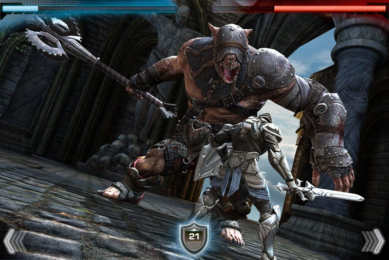 Illustration for article titled The First Epic iPhone Game Is Now 'Infinity Blade'