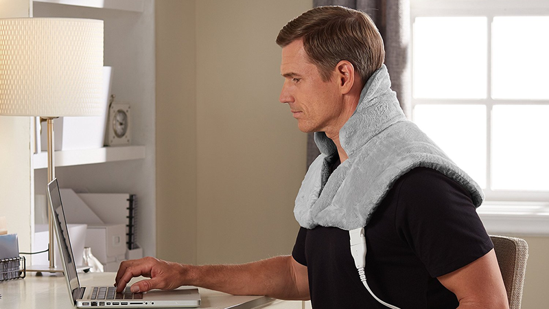 Sunbeam Renue Contouring Neck and Shoulder Heating Pad | $34 | Amazon