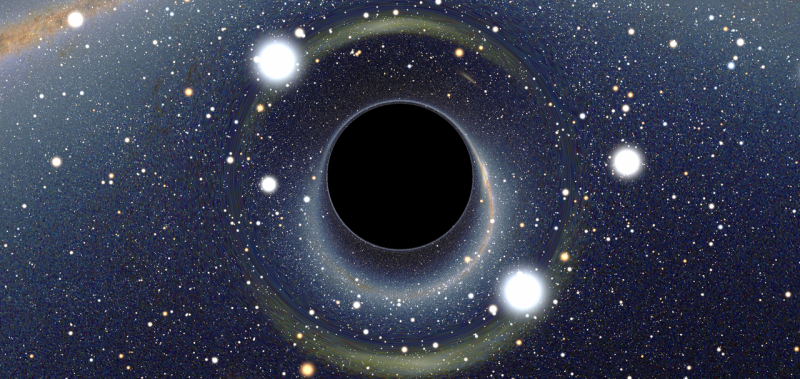Illustration for article titled How to Spot a Black Hole