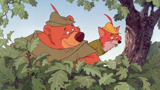 Illustration for article titled The Inspiration For Disney's Robin Hood Wasn't Actually Robin Hood