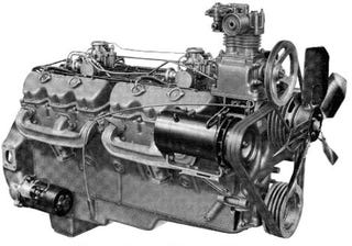 Illustration for article titled Ass-Kickin' Engine of the Day: GMC Twin-Six V12