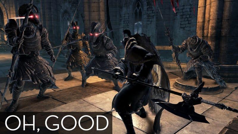 Illustration for article titled Dark Souls II is Dark Souls, Thank God