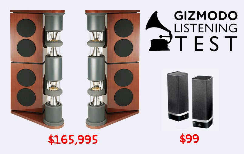 giz explains the difference between $100 and $100,000 speakers