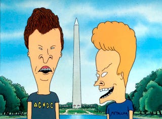 Illustration for article titled Life, The Universe, Beavis & Butthead