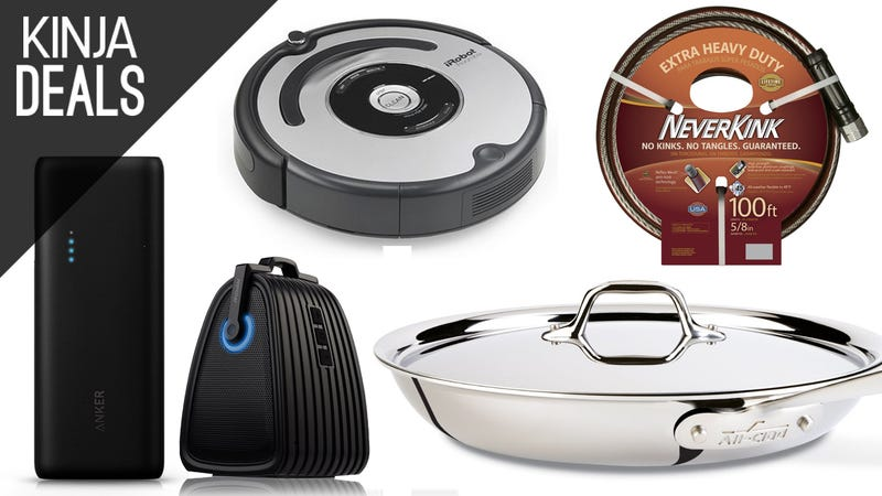 Illustration for article titled Today's Best Deals: All-Clad Skillet, Anker Batteries, and a Lot More