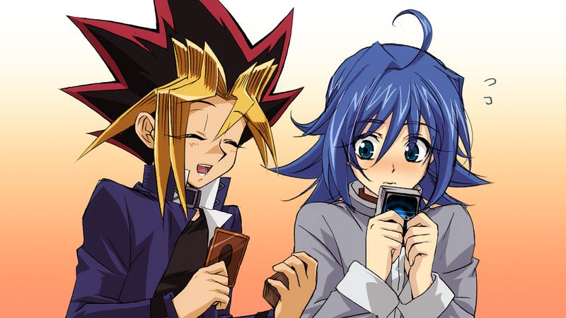 Illustration for article titled Cardfight!! Vanguard and Yu-Gi-Oh! Clashes with each other!