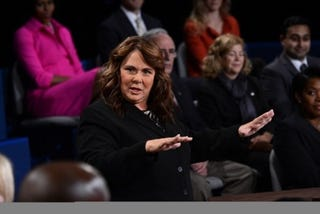 Candy Crowley (Emmanuel Dunand/AFP/Getty Images)