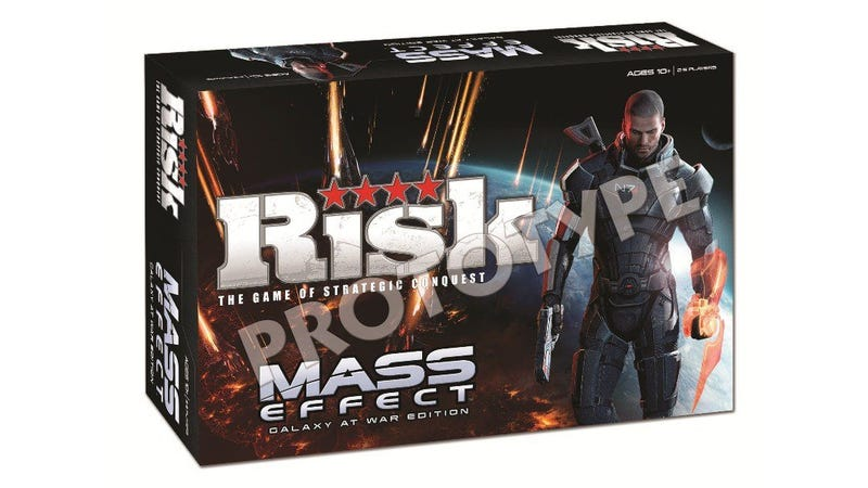 Illustration for article titled Mass Effect Edition of Risk Arrives This Fall