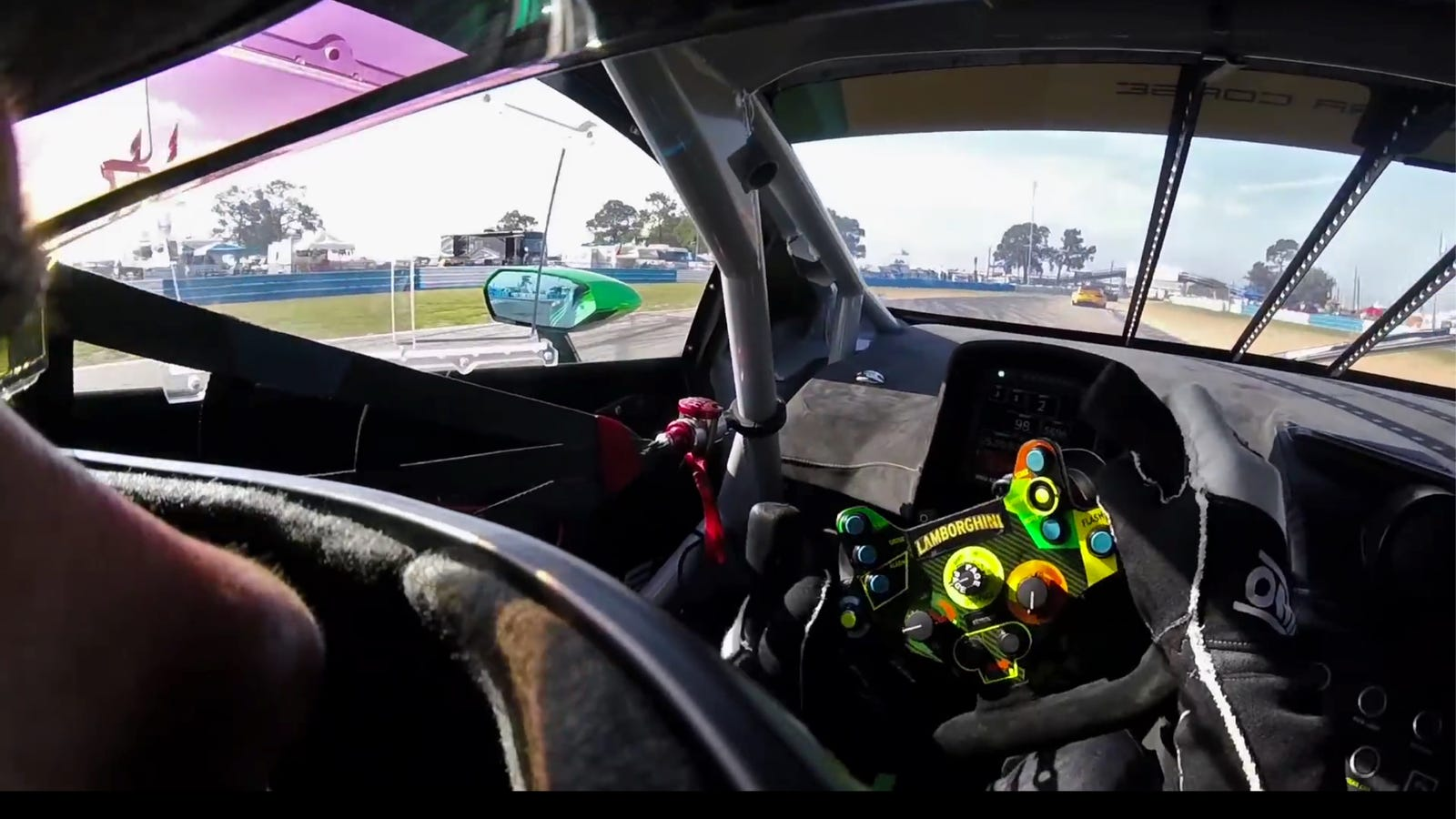 inside the lamborghini hurac n gt3 is the nicest place to be. Black Bedroom Furniture Sets. Home Design Ideas