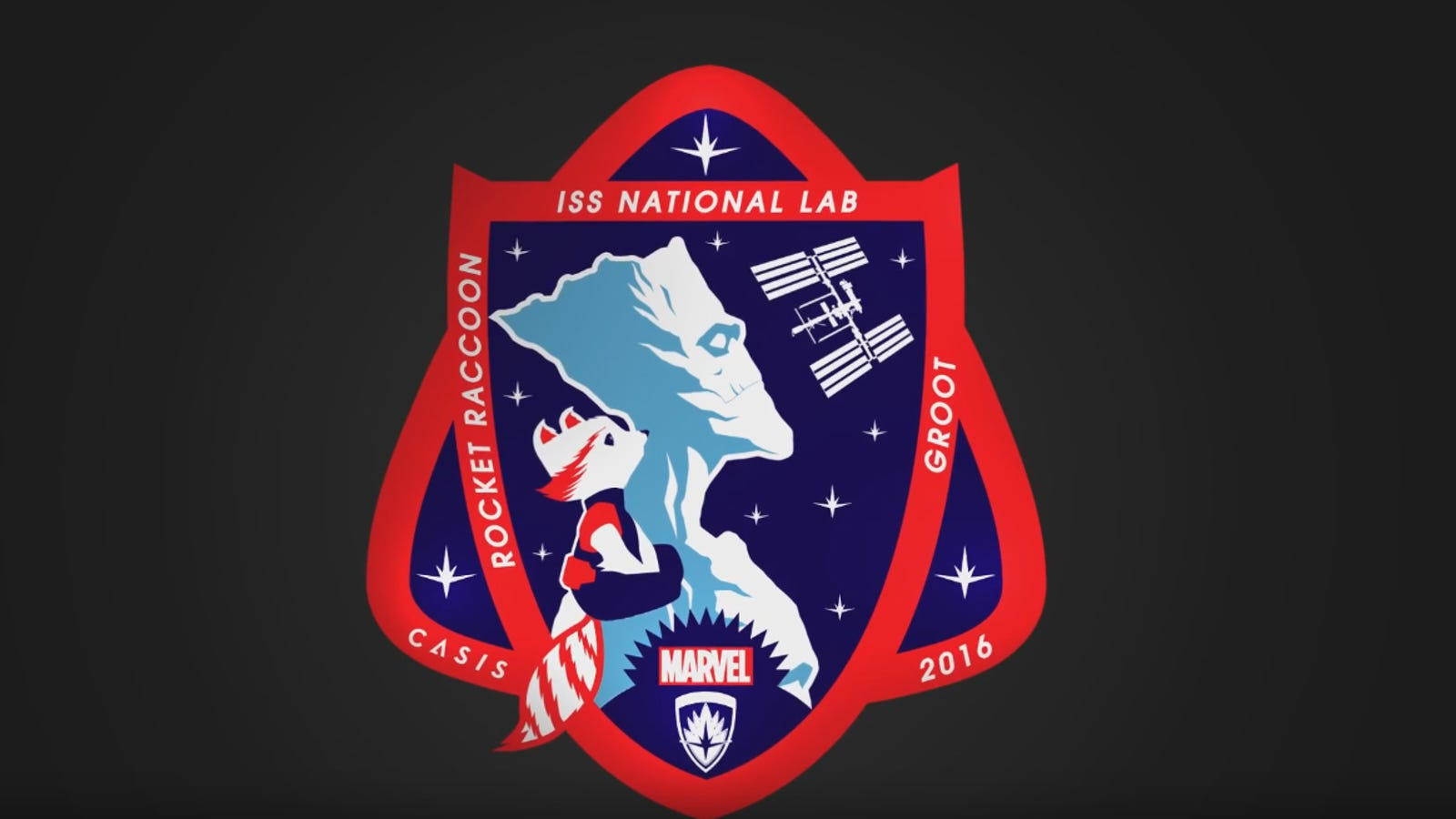 NASA Will Put Rocket Raccoon And Groot On Its New Mission Patch