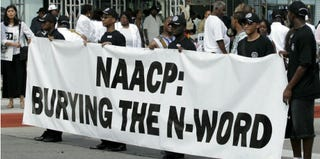 The NAACP buries the n-word. (Bill Pugliano/Getty Images)