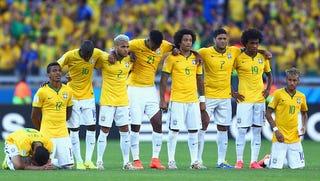 Illustration for article titled Továbbjutott Brazília, de erre nem lehetnek büszkék