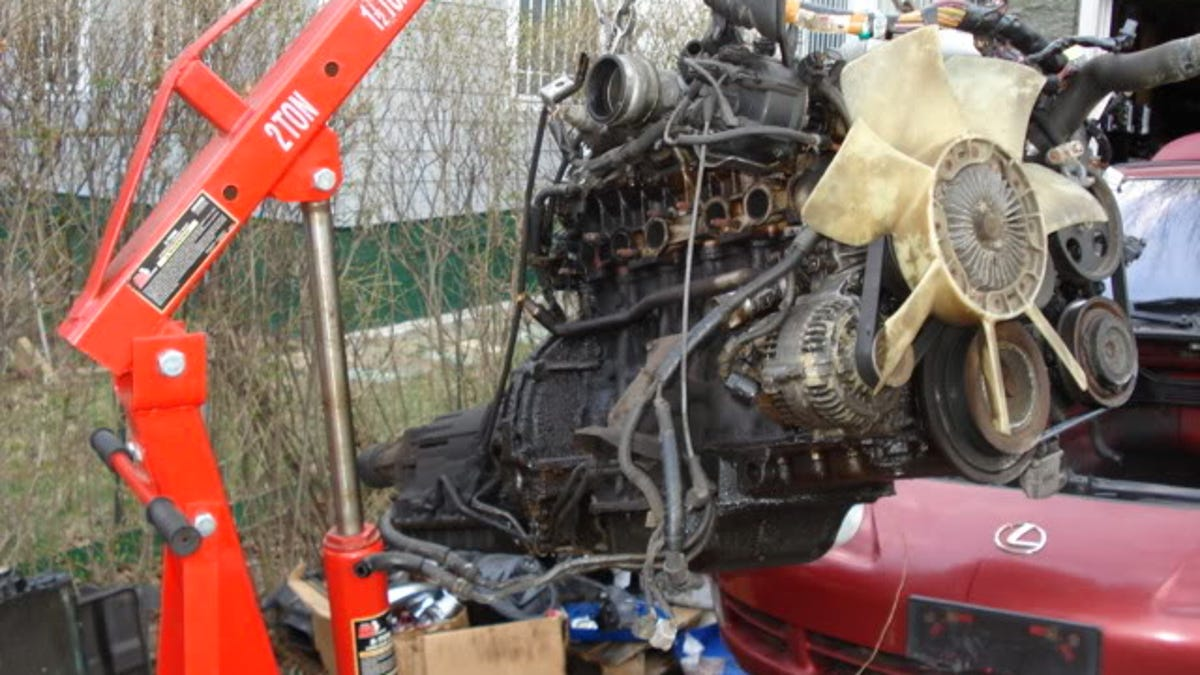How I Installed A Jdm Twin Turbo Engine In My 400 Lexus Sc300 2jz Vvt Wiring Diagram