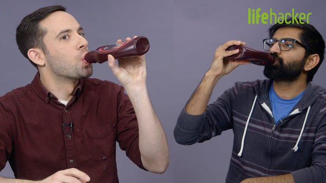 Should You Drink Water Out of a Chocolate Syrup Bottle?