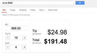 Illustration for article titled Most akkor mennyi borravalót hagyjunk? Erre is jó a Google.