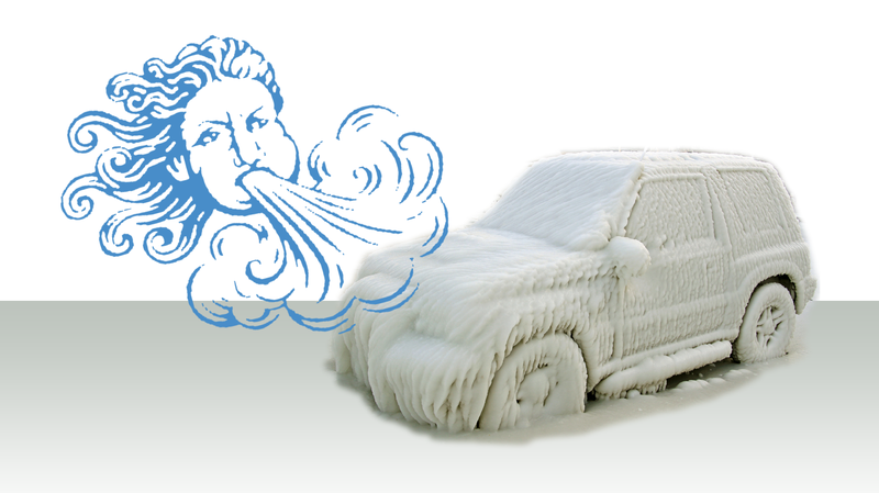Illustration for article titled Here's How Wind Chill Affects Your Car