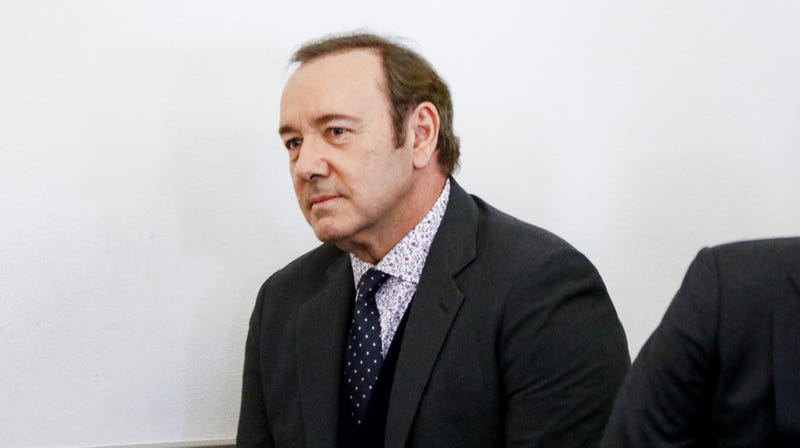 Illustration for article titled Kevin Spacey interviewed by Scotland Yard in connection with London-based assault allegations