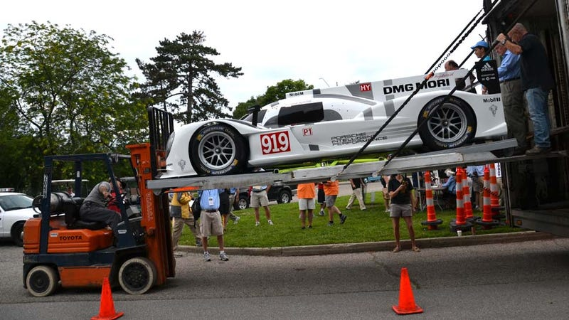 Illustration for article titled Americans Find Porsche 919 Hybrid Tough To Handle