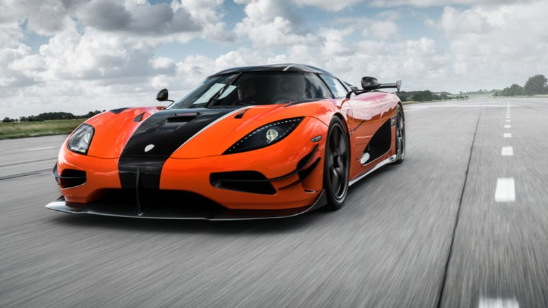 Illustration for article titled This Is The Koenigsegg Agera XS Which Is Like A Koenigsegg Agera RS But More Excessive [Updated]