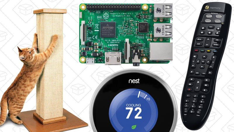 Illustration for article titled Saturday's Best Deals, Raspberry Pi 3, $20 Harmony Remote, and More