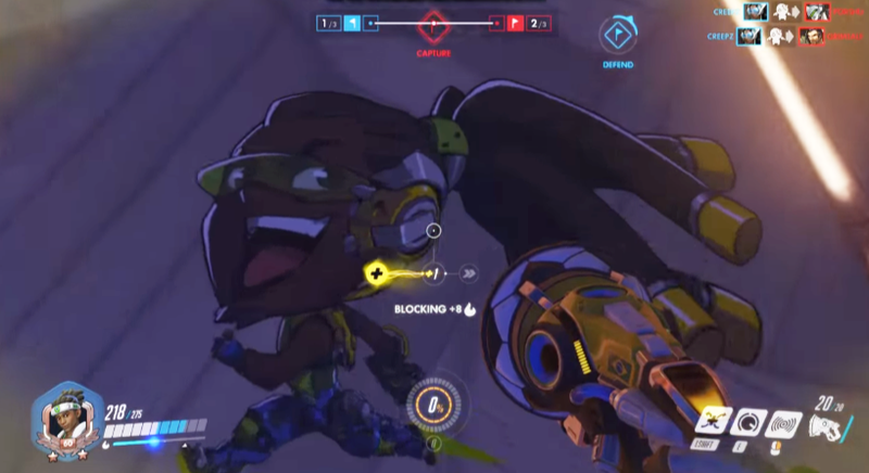 Overwatch Player Fakes Everyone Out With Lucio Wall Riding Skills