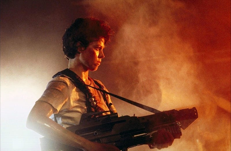 Ripley Has a Habit of Removing Her Jumpsuit at the Worst Moment in This 1986 Aliens Spoof