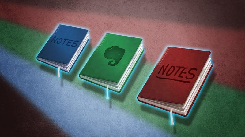 Illustration for article titled Note Taking Styles Compared: Evernote vs Plain Text vs Pen and Paper