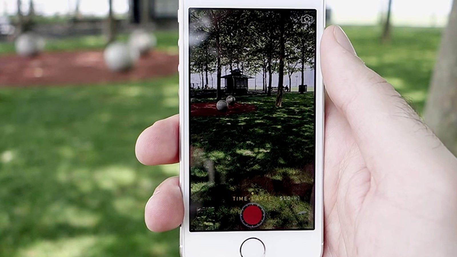 Las nuevas funciones de la cámara de iOS 8, en vídeo