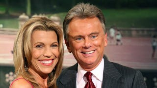 Illustration for article titled Pat Sajak Admits He and Vanna White Were Often Plastered on Wheel of Fortune