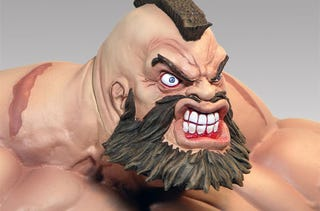 Illustration for article titled Zangief Statue Won't Win Any Beauty Pageants