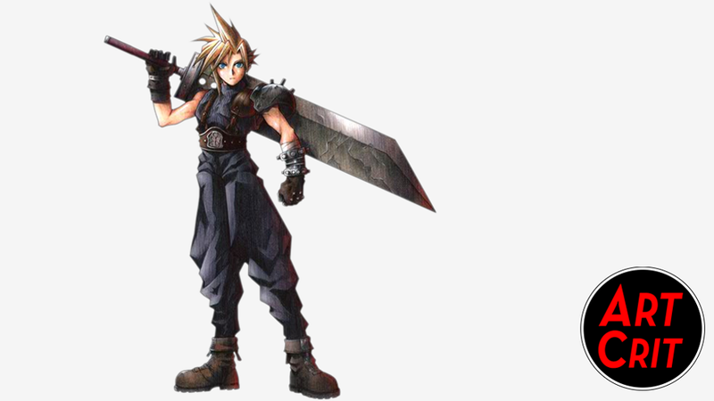 Illustration for article titled Show Us What You Love and Hate About Cloud Strife's Character Design