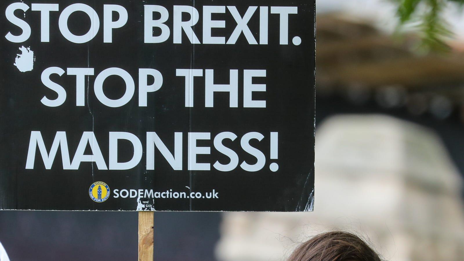 Brexit Sparked a UK Man's Psychotic Episode, Doctors Say