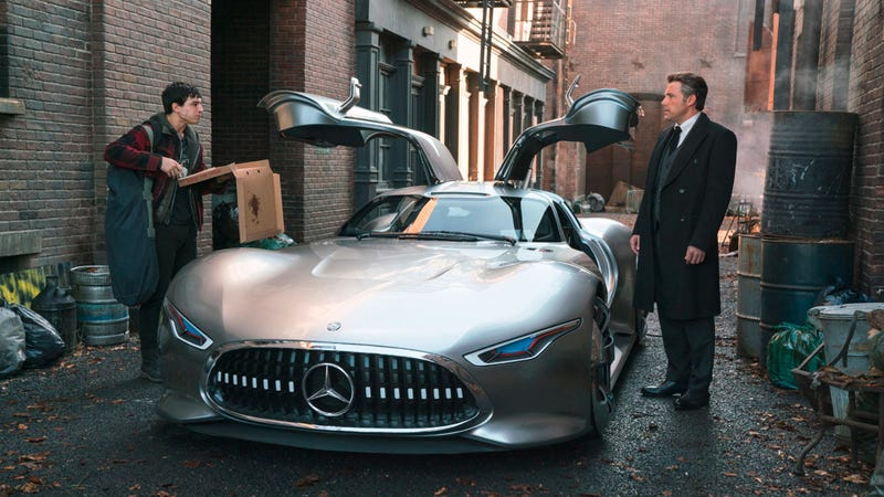 Illustration for article titled Mercedes-Benz Just Confirmed That Bruce Wayne Definitely Plays Gran Turismo