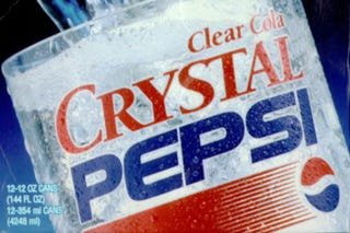 Illustration for article titled It Looks Like Crystal Pepsi Might Be Coming Back