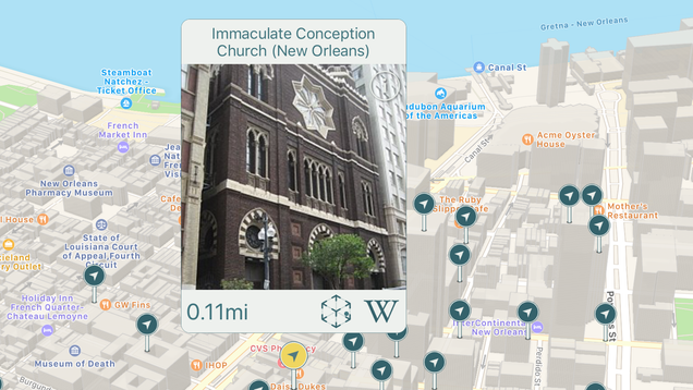use wikipedia as your personal tour guide with wikicompass utter buzz