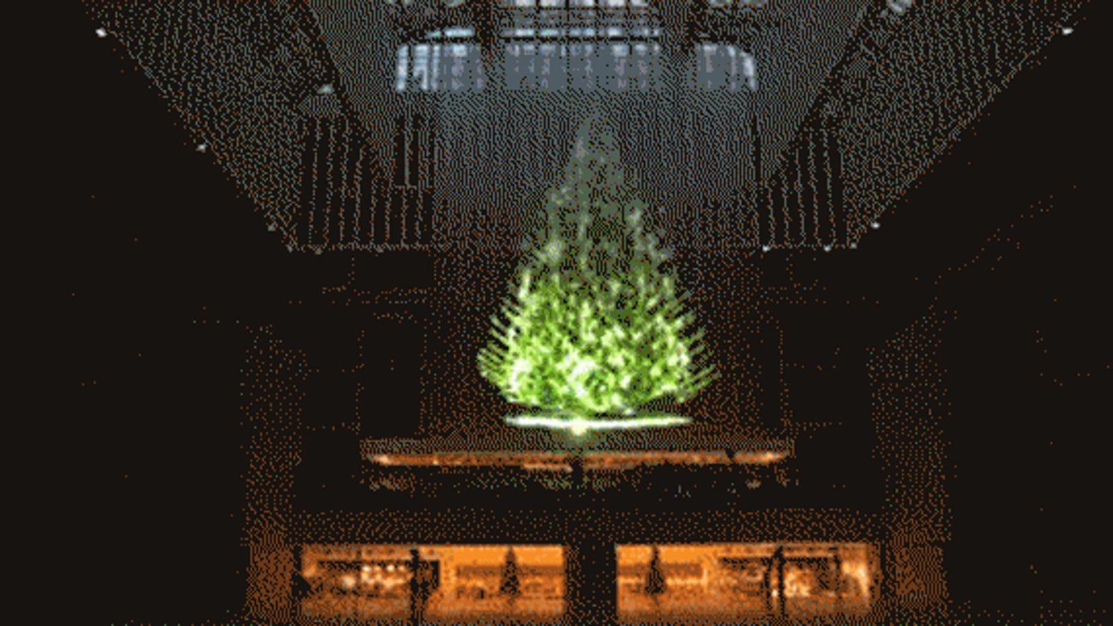 Siete de los árboles alternativos más originales de esta Navidad