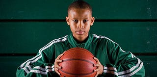 Illustration for article titled No Pressure On Sixth-Grade Basketball Recruit