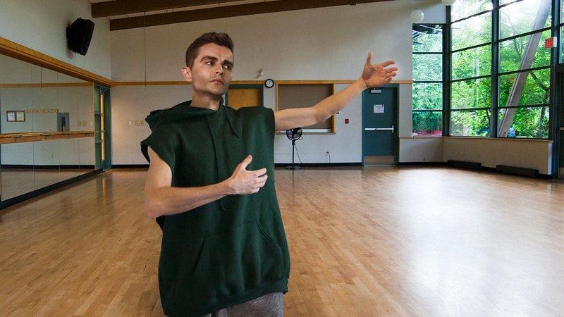Dave Franco dancing.