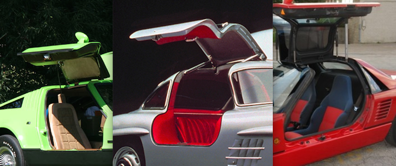 Illustration for article titled You'll Never Guess Who Invented The Gullwing Door