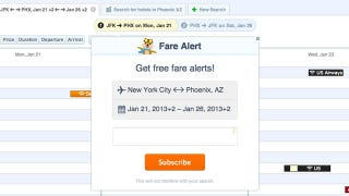Illustration for article titled Hipmunk Adds Free Fare Alerts to Its Flight Search