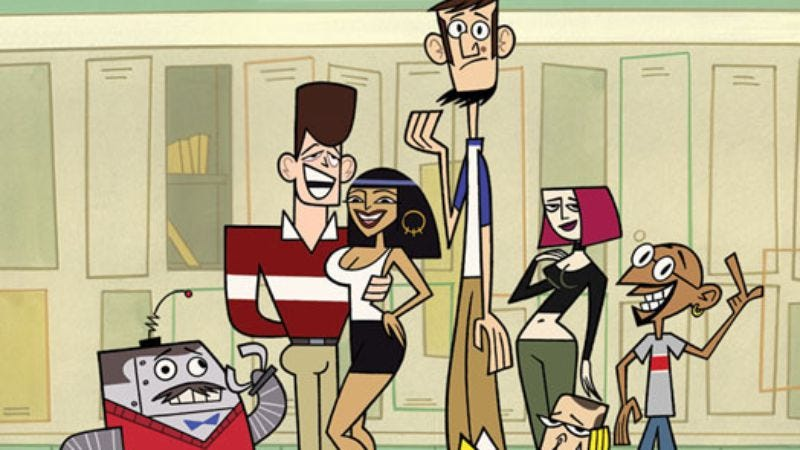 "Illustration for article titled Clone High: ""Escape To Beer Mountain: A Rope Of Sand"""