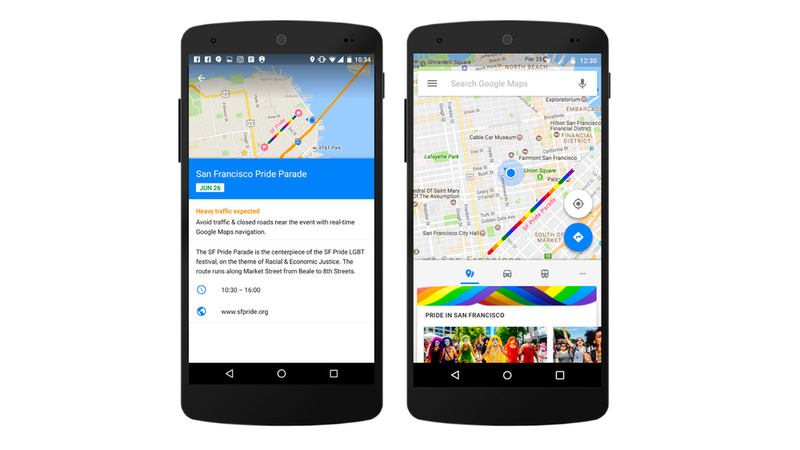 Illustration for article titled Find Pride Events in Your Area With Google Maps