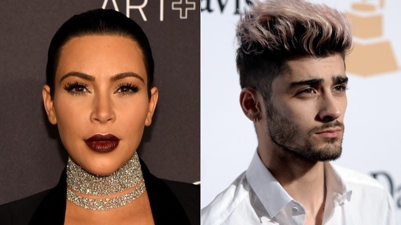 Illustration for article titled Zayn Malik Was Not Shading Kim Kardashian, Ok?