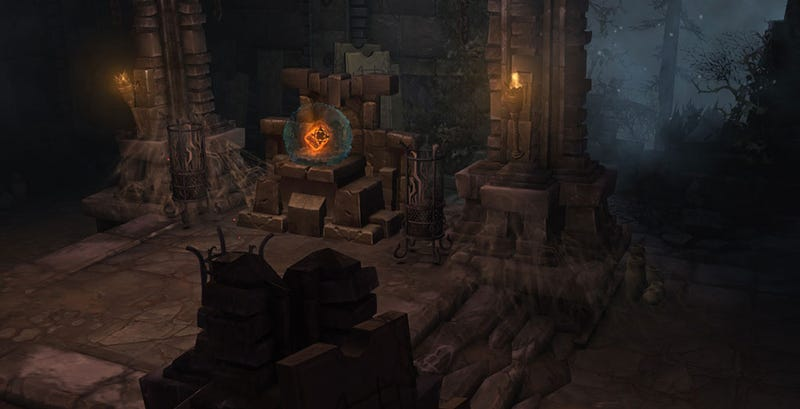Illustration for article titled Diablo III Update Honors Blizzard Artist Who Died Last Year